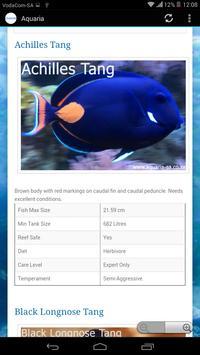 Aquaria SA apk screenshot
