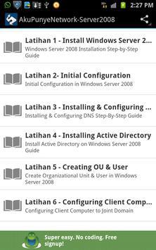 Tutorial Windows Server 2008 poster