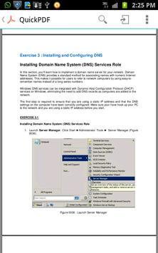 Tutorial Windows Server 2008 apk screenshot