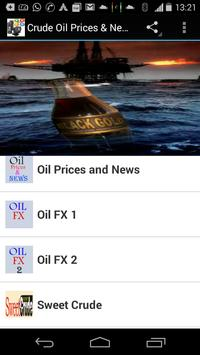 Crude Oil Prices & News poster