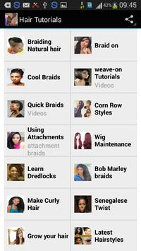 Hair Styles and Tutorials apk screenshot