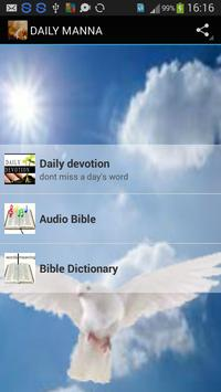 Daily Manna 2016 apk screenshot