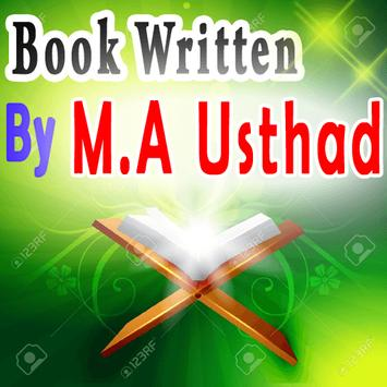 Book Written By M.A. Usthad poster