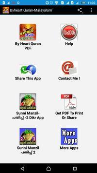 Byheart Quran Easily-Malayalam poster
