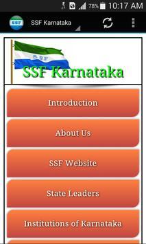 SSF Karnataka State poster