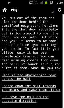 Zombie Survival - You Decide apk screenshot