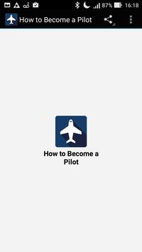 How to Become a Pilot poster