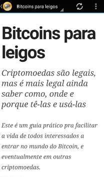 Aprenda Bitcoin para leigos poster