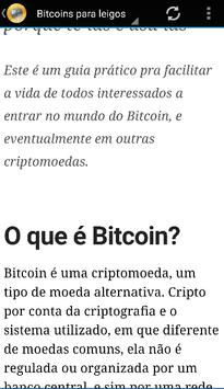 Aprenda Bitcoin para leigos apk screenshot