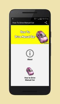 How To Drive Manual Car poster
