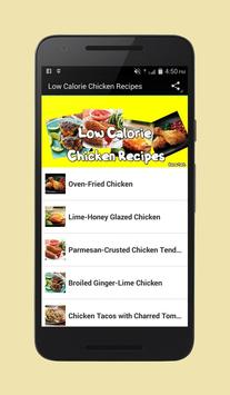 Low Calorie Chicken Recipes poster