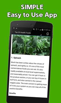 Best Healthy Food for You apk screenshot