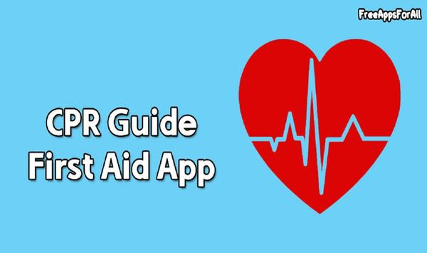 CPR First Aid App poster