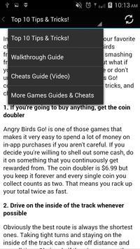 Guide for ANGRY BIRDS GO NEW apk screenshot