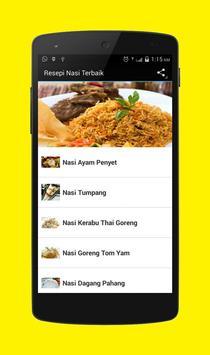 Resepi Nasi Terbaik apk screenshot