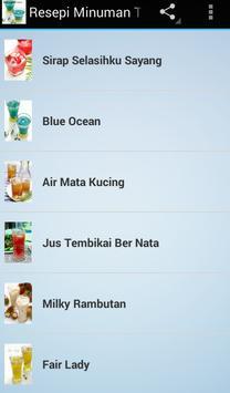 Resepi Minuman Terbaik apk screenshot
