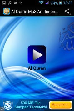Al Quran Mp3 Arti Indonesia apk screenshot