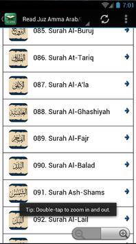 Juz 30 MP3 - As-Sudaes apk screenshot