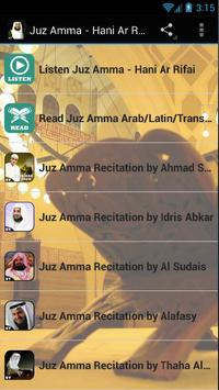 Juz Amma MP3 - Hani Ar Rifai poster