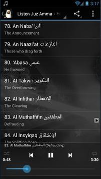 Juz Amma MP3 - Hani Ar Rifai apk screenshot