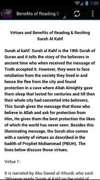 Surah Al Kahf Al-Shuraim apk screenshot
