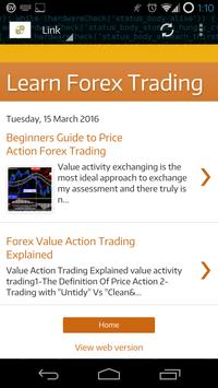 Learn Forex Trading Free poster
