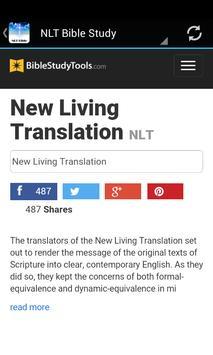 NLT Bible Study Free apk screenshot