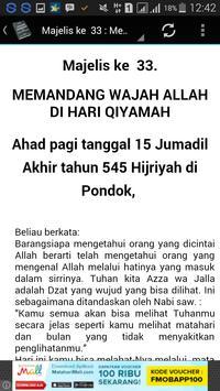 Kitab Fathur Rabbany apk screenshot