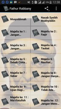 Kitab Fathur Rabbany poster