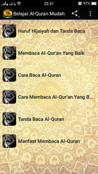 Easy to learn Al-Quran poster