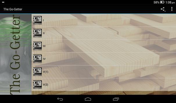 The Go-Getter apk screenshot
