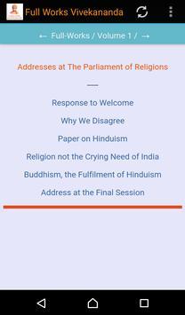 Full Works Swami Vivekananda apk screenshot