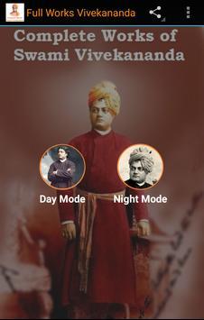 Full Works Swami Vivekananda poster