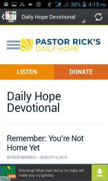 Daily Devotional & Prayers apk screenshot