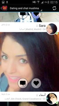 Dating and chat muslima apk screenshot