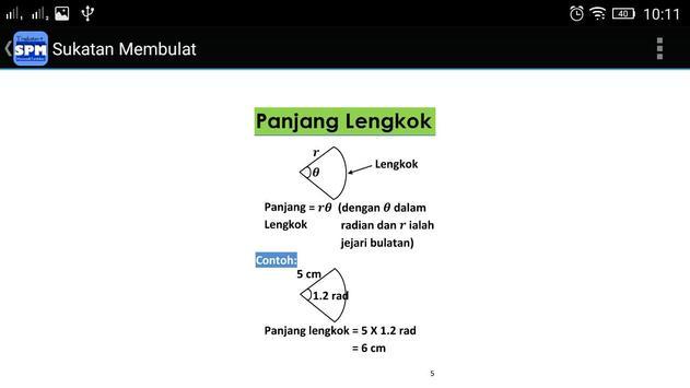 SPM Matematik Tambahan Ting 4 apk screenshot
