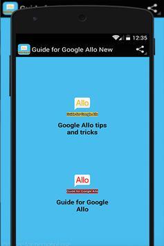 Guide for Google Allo New 📱📞 poster