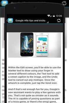 Guide for Google Allo New 📱📞 apk screenshot