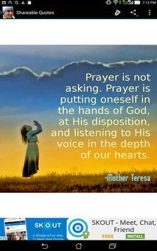 Saint Mother Teresa Quotes apk screenshot