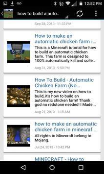Automatic Farm for minecraft apk screenshot