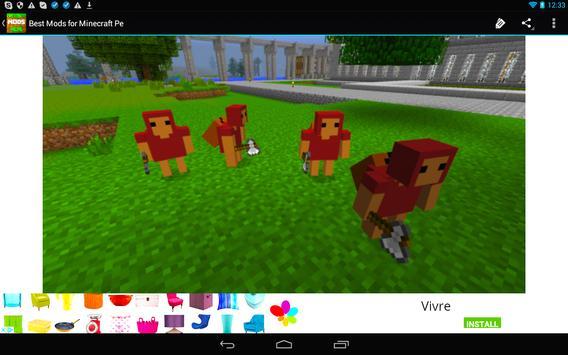 Mods for Minecraft PE 0.14.0 apk screenshot