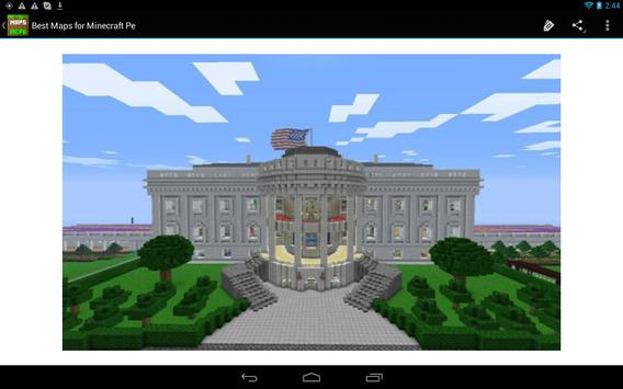 Maps for Minecraft Pe 0.14.0 apk screenshot