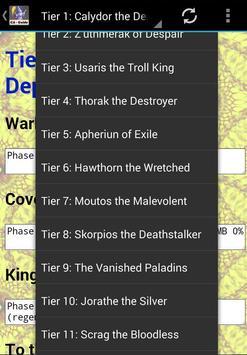 CA Guide for Kingdoms at War apk screenshot