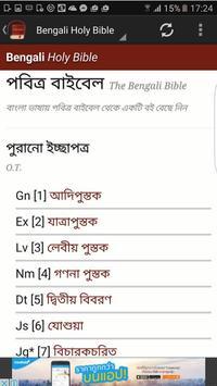 Bengali Bible poster