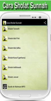 Tatacara Sholat Sunnah Lengkap apk screenshot