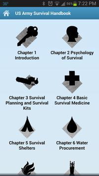 Army Survival Handbook apk screenshot