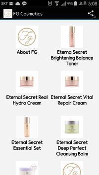 FG Cosmetics poster