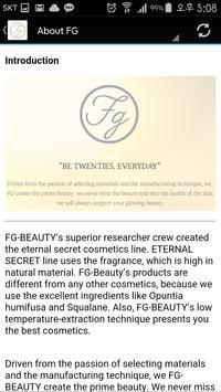 FG Cosmetics apk screenshot