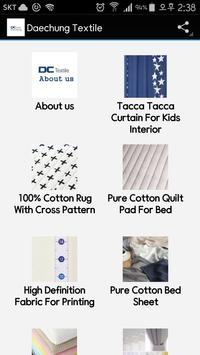DAECHUNG Textile poster