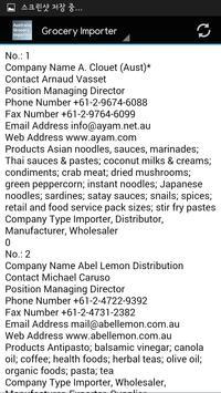 Australia Grocery Importer apk screenshot